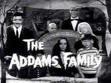 The Addams Family Title Card